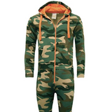 Camouflage Jumpsuit Sizes S / L Adults Unisex Camo All in One, Woodland Print UK
