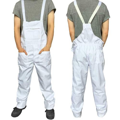 Mens Bib and Brace Overalls Sizes S - XXL 6 Colours, Standsafe Work Wear