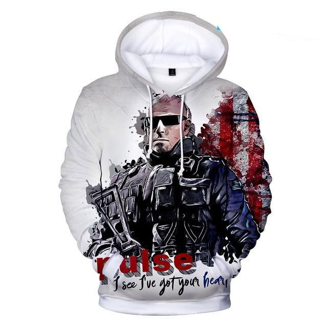 Hot Game Rainbow Six Siege 3D Hoodies Men/women Fashion 3D Print Withgeekbuyig-geekbuyig