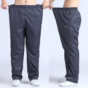 Grandwish Quick Dry Mens Active Pants Plus Size 6XL Loose Fit Long Pants Men Elastic Waist Outside Mens Exercise Pants,PA215-geekbuyig