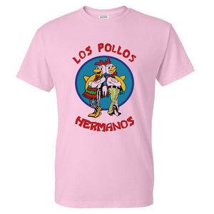 Men's Fashion Breaking Bad Shirt 2016 LOS POLLOS Hermanos T Shirt Chicken Brothers Short Sleeve Tee Hipster Hot Sale Tops-geekbuyig