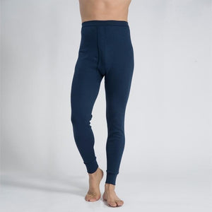 High Elastic Waist Winter Plus Men's Cotton Long Johns warm pants thin cotton and tight pants leggings Trousers-geekbuyig