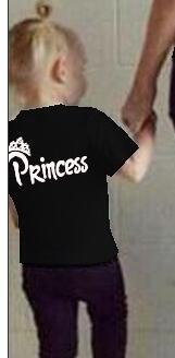 New Summer King Queen Prince Princess Family Matching Outfits Women Men Boy Girl clothes Cotton Family t-shirts black white tee-geekbuyig