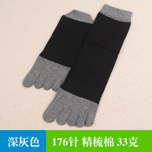 NEW 1 Pair/Lot Breathable men Five finger socks 5 five toe socks outdor socks 5 fingers Brand Casual socks size EUR 39-45-geekbuyig