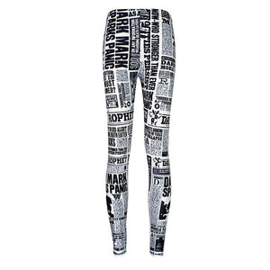 New Arrival 3628 Sexy Girl Women SpellBound witchcraft ouija Crafty 3D Prints Elastic Fitness Polyester Walking Leggings Pants-geekbuyig