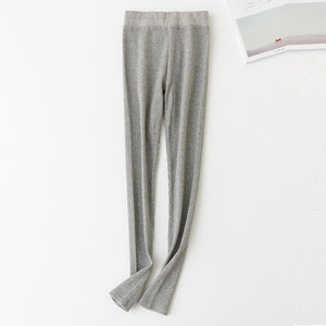 Women Black Gray Leggings Skinny Pants Kawaii Cute Rib Legins Girls Comfort Cotton Spandex Stretch Legging Ladies Leggings wk033-geekbuyig