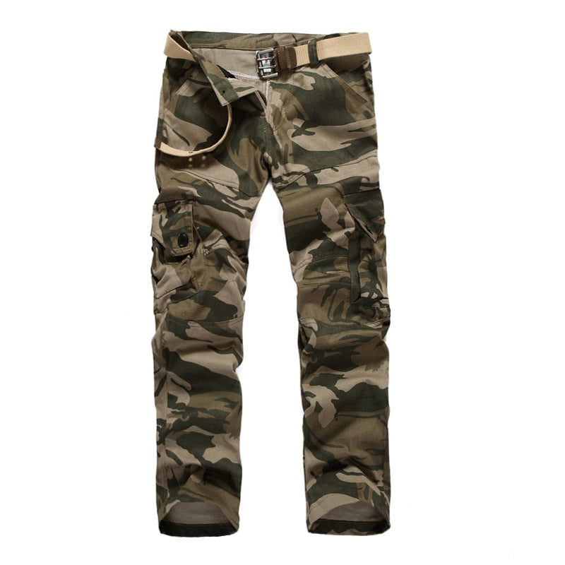 Free Shipping 2017 Spring &Autumn New Men camouflage pants Multi-Pocket Casual Trousers Mens Cargo Pants plus size XXXL-geekbuyig