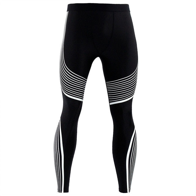 Men Pants 2017 New Compression Pants Brand Clothing Base Layer Tights Exercise Fitness Long Leggings Trousers Leisure Pants Man-geekbuyig