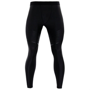 Men's Pants 2017 New Compression Pants Brand Clothes Base Layer Pantyhose Exercise Fitness Long Leggings Trousers Leisure Pants-geekbuyig