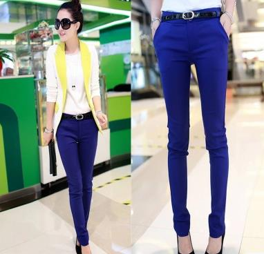 Trousers For Women Autumn/Winter New Office Lady 2017 Women's Long Pants Female Fashion Pencil Pants Ladies Casual Trousers-geekbuyig