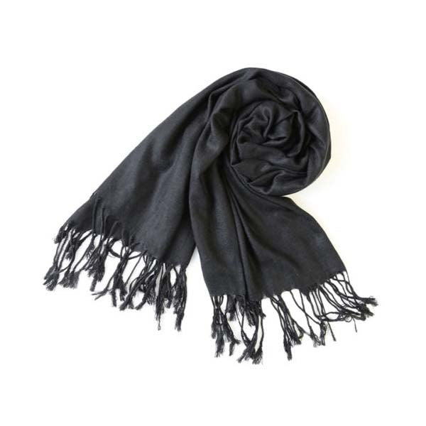 2017 New Solid Color Women Winter Warm Cashmere Silk Solid Long Pashmina Shawl Wrap Scarf 180x70cm Chenmanfengcai-geekbuyig
