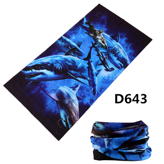 2017 Fishing Bandana Headwear Mask Seamless Hiphop Hijab Bandana Motorcycle Neck Tube Scarf Magic Headband Ring Wrap Unisex-geekbuyig