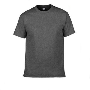 2017 New Solid color T Shirt Mens Black And White 100% cotton T-shirts Summer Skateboard Tee Boy Skate Tshirt Tops F18-geekbuyig