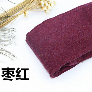 Winter Woolen Warm Cashmere Fashion Colorful Leggings for Women Alpaca Female Comfortable Leggings Pants Trousers-geekbuyig