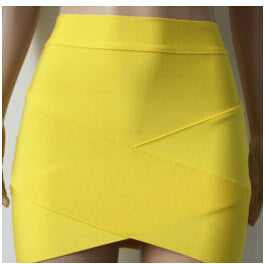 Skinny Skirts Cross Bandage Skirts 2015 European and American Style High End Women Large Clothing Package Hip Skirt C134-geekbuyig