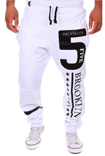Mens Joggers Fashion Casual men Pants Skinny Joggers Hip Hop sweatpants Harem Pants M-3XL-geekbuyig
