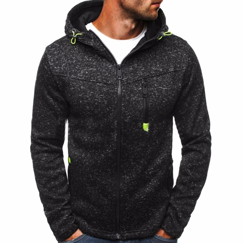 Winter Hoodie Male Cardigan 2017 New Long sleeve hoodies men Zipper Sweatshirt Hoodies Mens Hooded Plus size Coat Jacket-geekbuyig