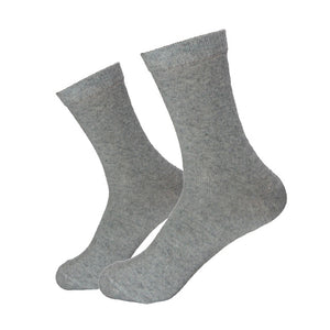 5 Pair Rabbit Wool Quality New knitted Men's Socks Spring Autumn Winter Warm Thick Solid Pattern Business Casual Soft Sock Meias-geekbuyig