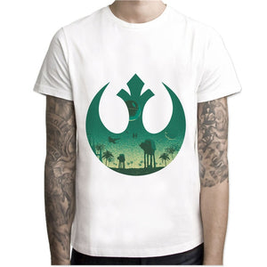 hot Summer Fashion star wars king T Shirt Men's High Quality Tops Tees Custom male t-shirt Printed clothing-geekbuyig