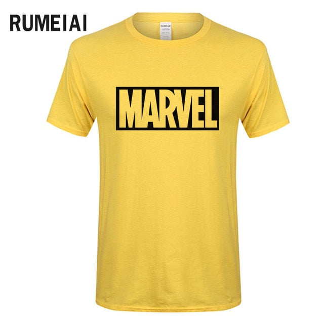 2017 New Brand Marvel t Shirt men tops tees Top quality cotton short sleeves Casual men tshirt marvel t shirts men free shipping-geekbuyig