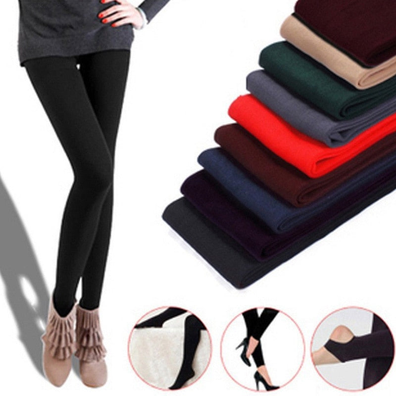 RIMIUT New Fashion 3 Style Women Winter Autumn Warm Elasticity Leggings Pants Casual Female thick Slim underpants winter legging-geekbuyig