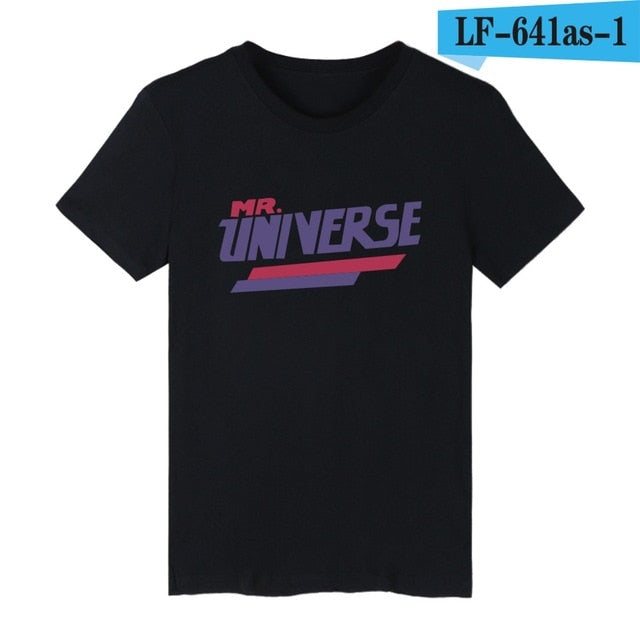STEVEN UNIVERSE Cartoon Funny T-shirt Men Short Sleeve T Shirts and Anime Sugar Life Adventure Crystal Gems TShirts XXS 4XL-geekbuyig