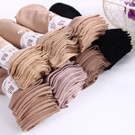 10 Pairs / lot Hot Sale Autumn Comfortable Silk Socks Women Low Price Cool Solid Color Breathable Sexy Skin Sock 7 Colors-geekbuyig
