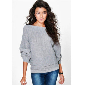 Thin Sweatshirts Women Autumn Winter Loose Long Batwing Sleeve Sweatshirts New Fashion Pullovers Thin Hoodies Jumper-geekbuyig