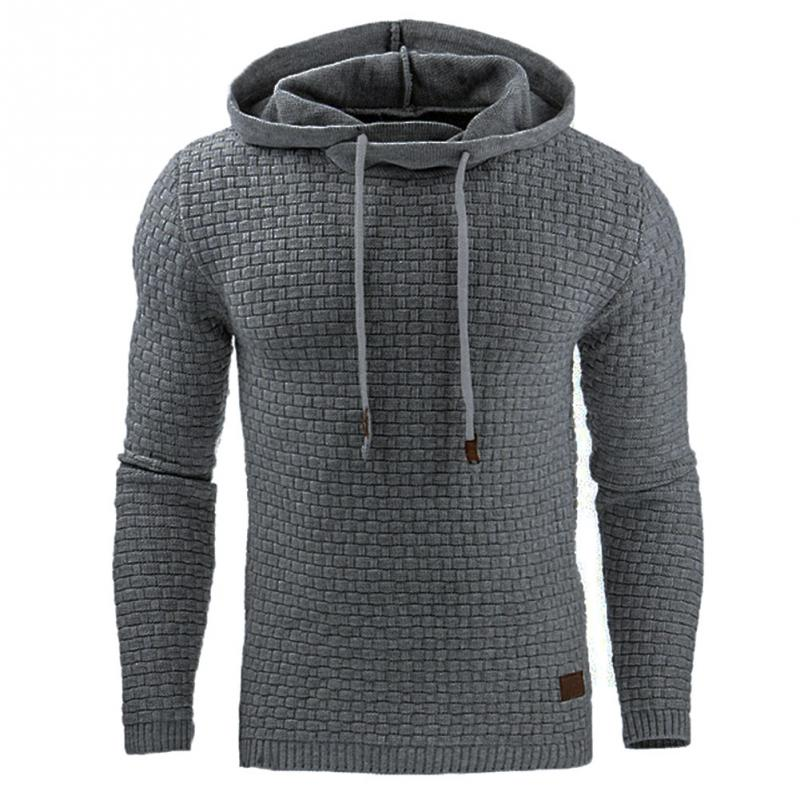 Men's Sweatshirt & Hoodies Hip Hop Hoodies Male Brand Hoodies black Sticky fiber Patchwork Men Slim Fit Men pullover-geekbuyig