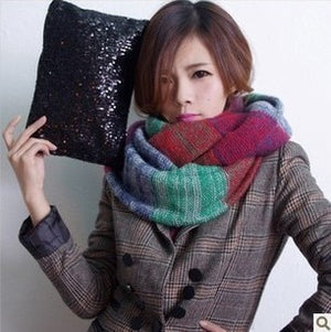Autumn Winter Women's Scarf Colorful Acrylic Scarves LIC For Female Echarpes Luxury Brand Dachshund Warm LIC For Women Scarf-geekbuyig