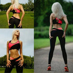 MUQGEW Hot Sale Women Workout Gyms Fitness Leggings High Quality Pants Physical Exercise Breathable Athletics Clothes-geekbuyig