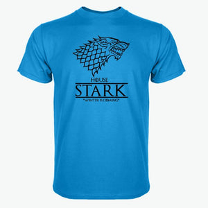 Game of Thrones raglan tee House Stark letters Winter Is Coming t shirt 2017 hot sale 100% cotton top tees S-3XL-geekbuyig
