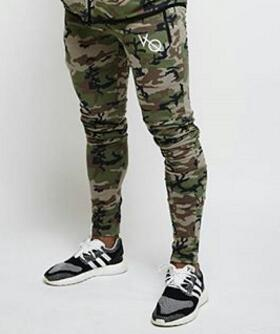 NEW Gyms clothing pants New Fitness Casual Elastic Pants bodybuilding clothing casual camouflage sweatpants joggers pants-geekbuyig