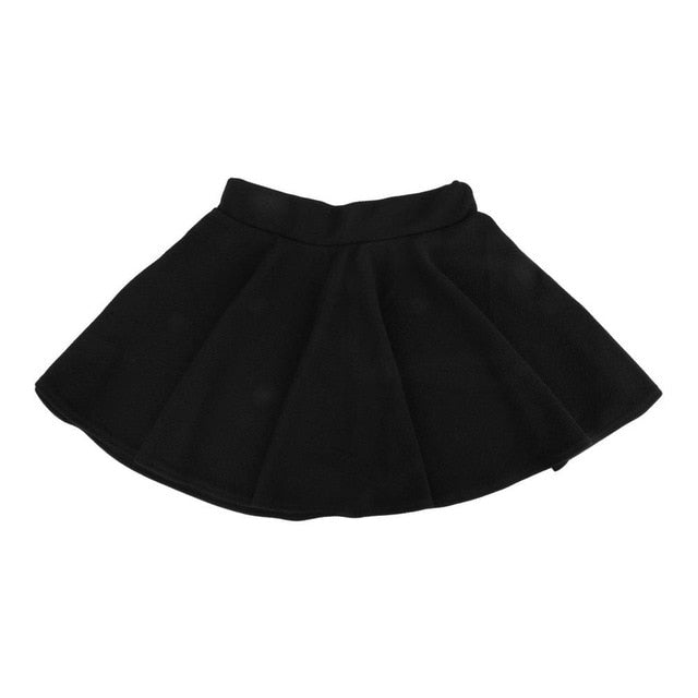 2018 Summer Fashion Unique High Waist Stretch Women Mini Pleated Skirts Casual Cotton Flared Pleated high Waisted Casual Skirt-geekbuyig