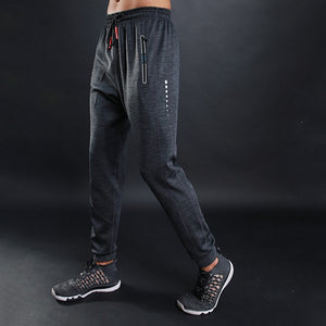2018 Fashion Solid Sweatpants Men Sportswear Joggers Breathable Pencil Pants Drawstring New High Quality Male Trousers XXL-geekbuyig