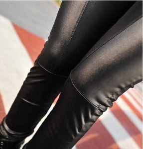Bohocotol New 2018 fashion Faux Leather pants for women Lady leggins pants New sexy Fashion 2018 wholesale free shipping-geekbuyig