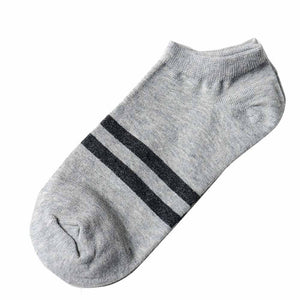 USPS MUQGEW Mens socks 1Pair calcetines Unisex socks Comfortable Stripe Cotton compression socks Slippers Short Ankle meias-geekbuyig