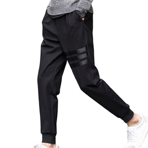New Spring Breathable Pants Skinnly Pencil Pants Men Slim Fit Mens Casual Pants Straight Elastic Trousers Pencil Feet Pants Men-geekbuyig