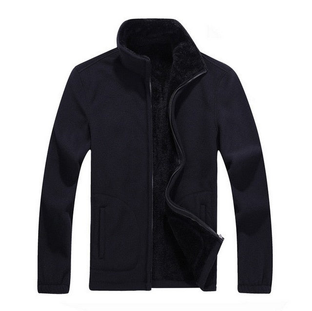 women's Thick Jackets Softshell Fleece sportswear 5XL 6XL 7X 8XL Woolen Warm Hoodies Casual Thermal Coats Solid Sweatshirt women-geekbuyig