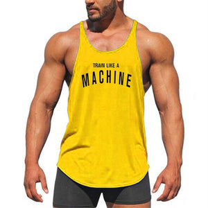 Muscle guys animal print Cotton tank tops bodybuilding fitness men Golds gyms work out vest men fitnes shirt men tops-geekbuyig