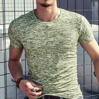 2018 New Fashion T Shirt Men O-neck Elastic Cotton Comfortable Top Tee Man T-shirt Casual Short Sleeve Tshirt Homme Plus Size-geekbuyig