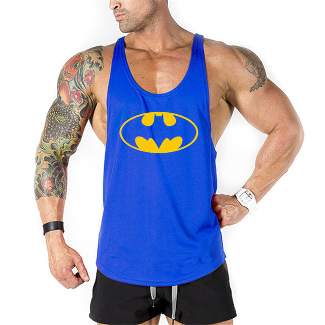 Golds Vest Mens Sleeveless Shirt Bodybuilding Stringer Tank Top Fitness Singlets power Sportwear Undershirt Animal gyms Clothing-geekbuyig
