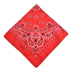 Unisex Cotton Bandana Scarf Square Head Scarf Women Men Hip Hop Bicycle Bandana Motorcycle Bandanas Headwear Scarves Hijab-geekbuyig