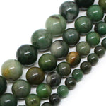 Natural Stone Beads AAA+ Genuine African Jade Beads For Jewelry Making 15inch 6/8/10/12mm Spacer Beads Diy Jewelry-geekbuyig