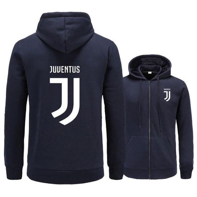 Huation New Man/Women Juventus 2018 Print Sportswear Hoodies Male Hip Hop Fleecegeekbuyig-geekbuyig
