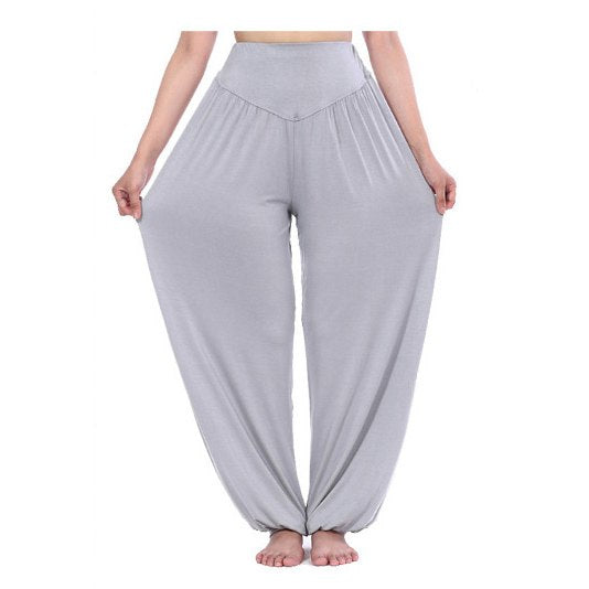 2018 New Women casual harem pants high waist dance pants dance club wide leg loose long bloomers trousers plus size,SB511-geekbuyig