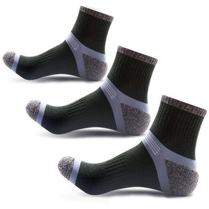 3 pairs/lot Breathable Casual Socks Crew Polyester Compression Socks Men Colorful Fashion Quick Dry Elasticity Socks Hot Sale-geekbuyig