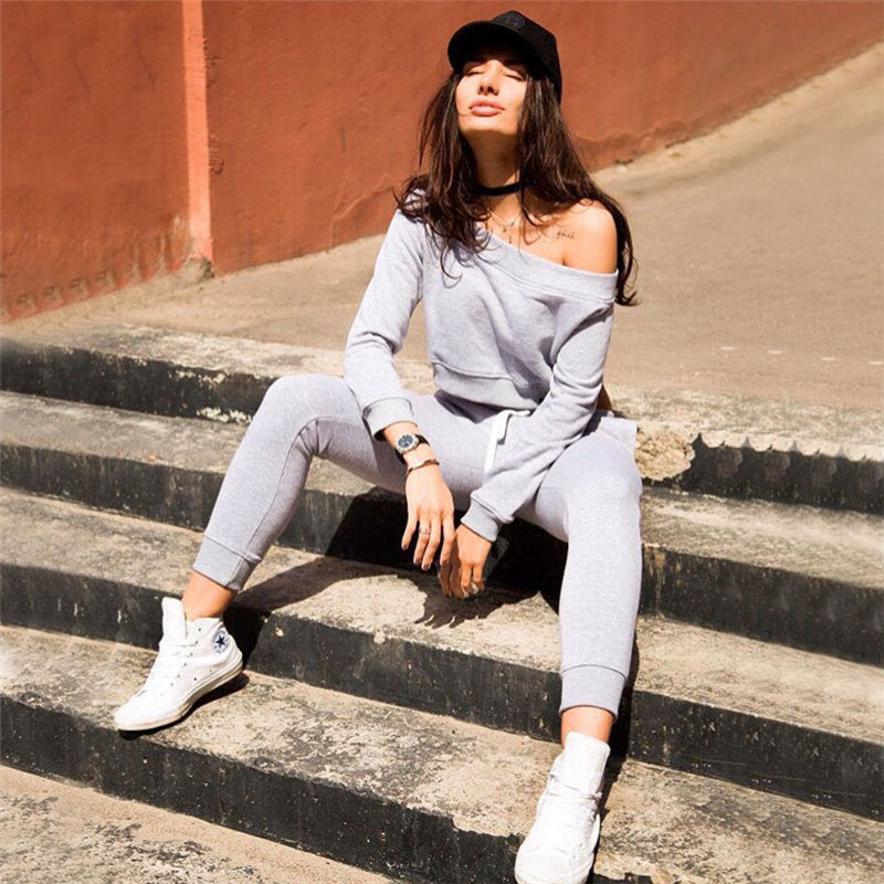 2018 New Patchwork Tracksuit Short Top Tanks And Leggings Sporting Skinny Clothing Summer 2 Pieces Hollow Women Clothing-geekbuyig