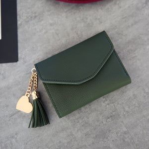 Brand Designer Coin Purses Leather Wallets Women Long Tassel Luxury Clutch Phone Wallets Female Credit Card Holder Money Bags-geekbuyig