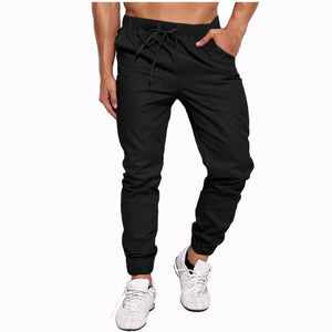 2018 Autumn Spring Brand Trousers Men's Slim Fit Harem Chinos Pants For Men High Quality Cotton Casual Pants Joggers Plus Size-geekbuyig